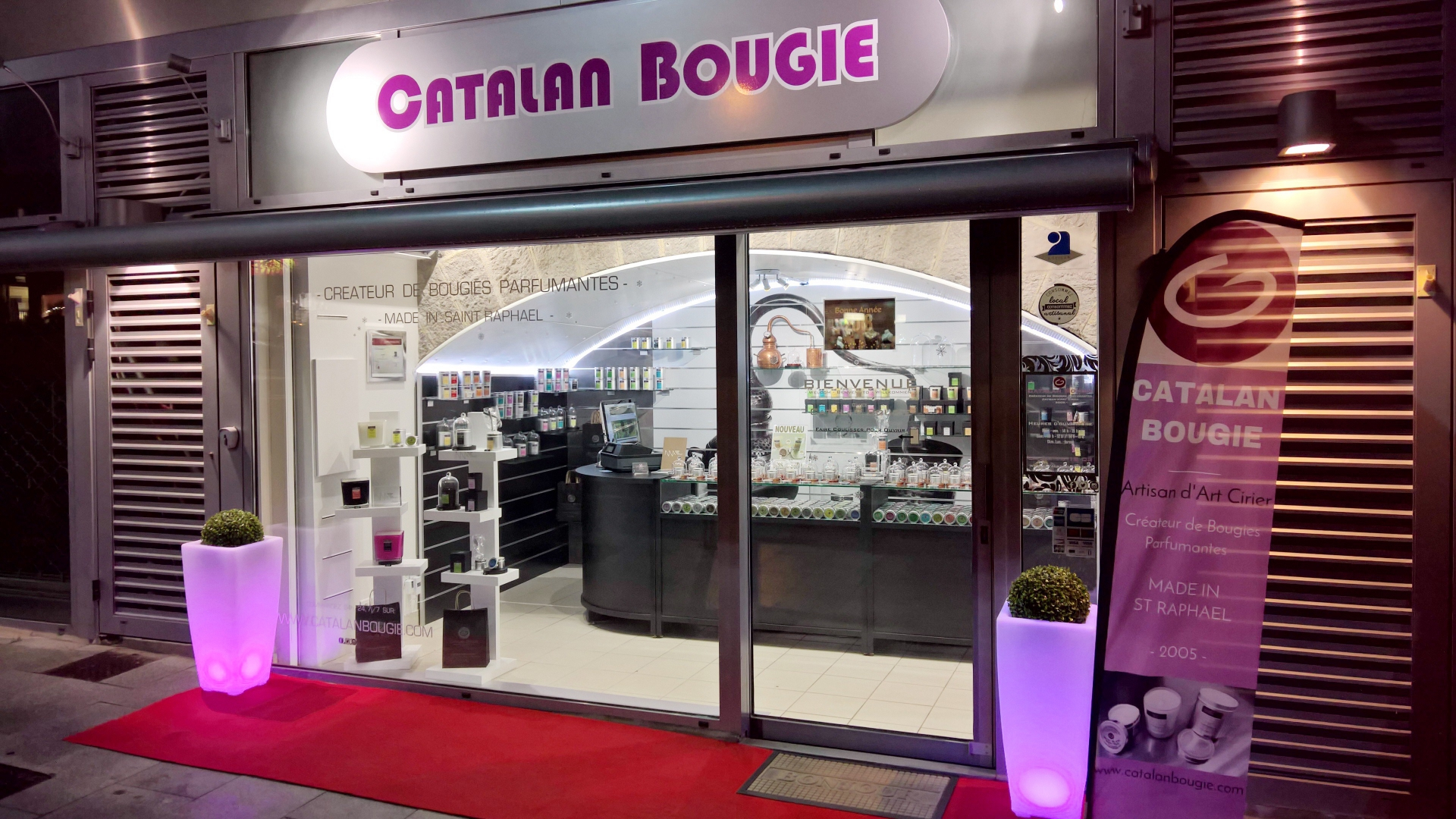 Boutique Catalan Bougie SAINT RAPHAEL (83)